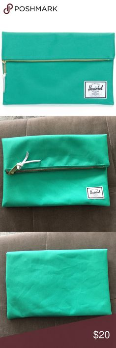 Herschel Supply Co Small Carter Foldover Clutch Brand: Herschel Supply Co. Like new, never used! Herschel Supply Company Bags Clutches & Wristlets
