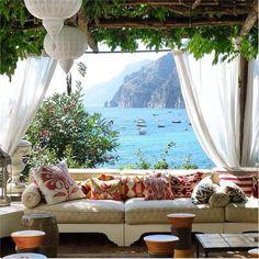 The Villa TreVille Positano, Amalfi Coast, Italy. | Image credit/copyright: Peter J. Lindberg.