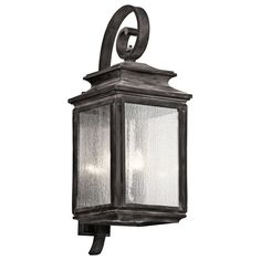 "Kichler 49504 Wiscombe Park 4 Light 30.5"" Outdoor Wall Light"