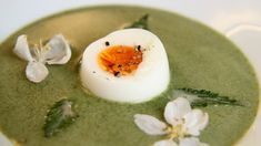 Brenneslesuppe – NRK Mat – Oppskrifter og inspirasjon Vegan Soups, Vegetarian Recipes, Vegan Food, Fun Cooking, Great Recipes, Panna Cotta, Herbalism, Food And Drink, Nutrition