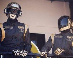 Daft Punk vistos rodando en Nueva York, fresh from #Instagram