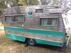 Vintage camper 1968 Shasta Lowflyte Glamper | eBay