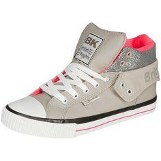 Sneakers mit Glitzereinsatz ab 59,99 € ♥ Hier kaufen:  http://stylefru.it/s03341 #sneaker #glitzer #umschlag