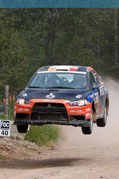 Sometimes on dirt roads, I dream of owning a rally car.