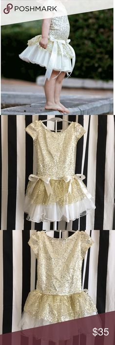 Girls Party Dress Flowergirl Dress Adorable Party or Flowergirl dress by Dolls and Divas Couture -  size 8 Never worn Dolls and Divas Couture Dresses Formal