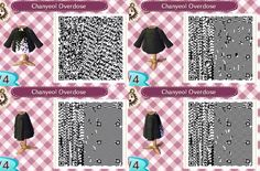 Chanyeol's outfit from EXO's Overdose For Animal Crossing New leaf Qr code