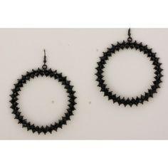 Black Crystal Earrings - Zibá Jewelry