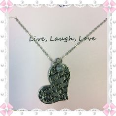 Live-Laugh -Love Necklace  Brand New Necklace!! Jewelry Necklaces