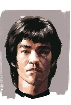 Wow This Came Out Truly Very Good of Bruce Lee.