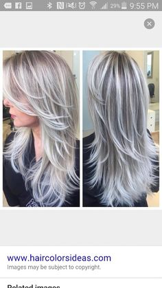 Blonde and silver