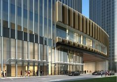 Building Exterior, Building Facade, Building Design, Amazing Buildings, Modern Buildings, Architecture Details, Modern Architecture, Retail Facade, Commercial Complex