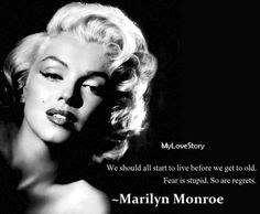Famous Love Quotes by Marilyn Monroe