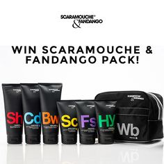 Win Grooming Pack from Scaramouche & Fandango!