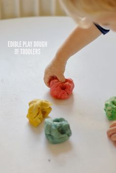 Along Abbey Road | A Lifestyle & Family Blog : Edible Play Dough For Toddlers