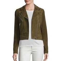 Rag & Bone Women's The Mercer Suede Jacket Brown Suede Jacket, Leather Jacket, Quilted Jacket, Suede Leather, Cool Outfits, Bomber Jacket, How To Wear, Outerwear Jackets, Clothes