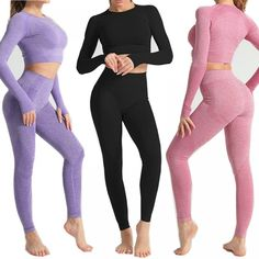 Seamless Yoga Set Fitness Sports Suits High Waist Running Leggings Women  Price: $SALEPRICE & FREE Shipping!!! A real pickup for you! Fashion and Beauty!!! 😀Seamless Yoga Set Fitness Sports Suits High Waist Running Leggings Women $SALEPRICE and FREE Shipping   #love #TAGUS #amazing #likeit #summer #beautiful} #hashtag1love Running Leggings, Workout Leggings, Workout Pants, Women's Leggings, Waist Workout, Pant Shirt, Seamless Leggings, Women Sleeve, Outfit Sets