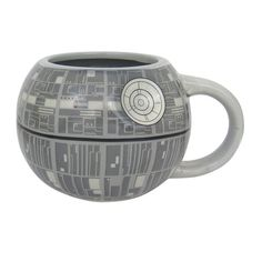 Star Wars Death Star Sculpted Ceramic Mug - Star Wars Death Star - Ideas of Star Wars Death Star - Star Wars Death Star Sculpted Ceramic Mug Biscuit, Star Coffee, Coffee Mugs, Star Wars Mugs, Weapon Of Mass Destruction, Star Wars Merchandise, Death Star, Ceramic Mugs, Hot Chocolate