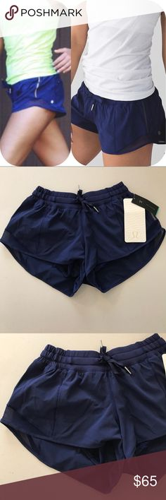 NWT HERO BLUE LULULEMON HOTTY HOT SHORTS -- Size 4 Brand: Lululemon Athletica Hotty Hot Shorts      Condition: New with tag || Size 4  || Hero Blue   🚩NO TRADES  🚩NO LOWBALL OFFERS  🚩NO RUDE COMMENTS  🚩NO MODELING  ☀️Please don't discuss prices in the comment box. Make a reasonable offer and I'll either counter, accept or decline.   I will try to respond to all inquiries in a timely manner. Please check out the rest of my closet, I have various brands. lululemon athletica Shorts