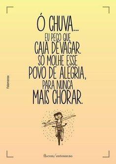 Oh Chuva - Planta e Raiz ♥♥♥♥