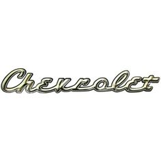 """This Chevrolet High Gloss Embossed Die Cut Sign is perfect to enhance the décor of any car enthusiast's home, office or man cave.    Made to hang on the wall, the sign measures approximately 24"""" x 3 3/4""""."""