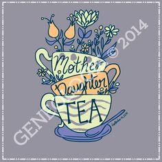 Greek T-Shirt: Mother/Daughter Tea