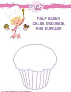 Versier deze cupcake zo mooi mogelijk!
