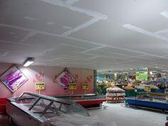 Rebaixamento de teto com gesso acartonado. (Drywall)