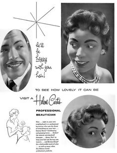 Helene Curtis advertisement