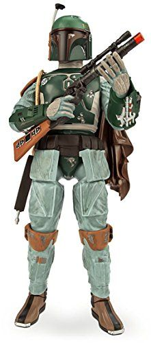 Star Wars Talking Darth Vader Boba Fett Stormtrooper 13.5″ Action Figure Set
