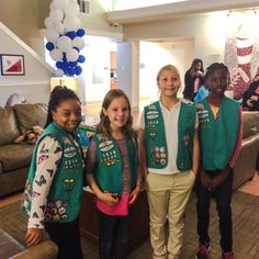 We couldn't be prouder of Troop #1519 for completing their Bronze Award! The girls organized a children's book drive for Durham's Ronald McDonald House and collected around 700 books! Wow! Great job, Girl Scouts!