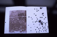 Manuel raeder 'In/visible' A publication about chewing gum and the infiltration of public and private spaces. This publication contains a selection of the material discovered whilst making an archive of chewing gum stuck underneath tables in art and design institutions around Europe, combined with drawings. Including a sample of the chewing gum typeface, developed by stretching gum across a flat-bed-scanner. Out of print