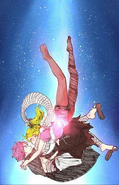 Fairy Tail Nalu, Fairy Tail Kids, Arte Fairy Tail, Fairy Tail Family, Fairy Tail Natsu And Lucy, Fairy Tail Love, Fairy Tail Guild, Fairy Tail Couples, Nalu Comics