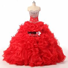 Wholesale 2017 Sweet 15 Dress Custom New Quinceanera Dresses Formal Prom Party Ball Prom Gown Wedding Dress
