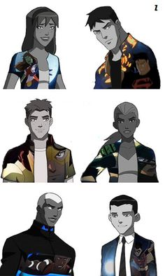 Secret Identities! BRING BACK YOUNG JUSTICE CARTOON NETWORK!!!!!!!!