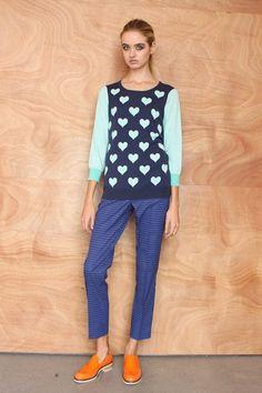 KW Atrium Knit Atrium, Polka Dot Top, Knitting, Tops, Women, Fashion, Moda, Tricot, Women's