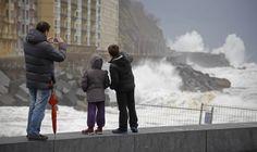 El temporal azota la costa guipuzcoana - diariovasco.com