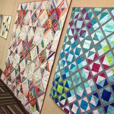 STLMQG Ohio Star Challenge Quilts
