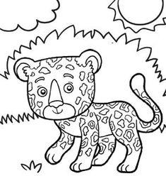 8 Baby Jaguar Coloring Pages Ideas Baby Jaguar Coloring Pages Zoo Coloring Pages