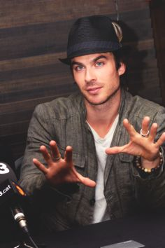 Ian Somerhalder - Looking this gorgeous should be illegal lol.