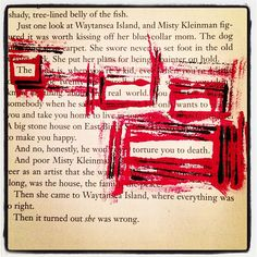 The Real World: Make Black Out Poetry, Black Out Poetry