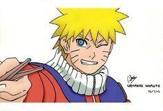Uzumaki Naruto Digital art