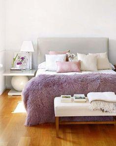 Decor Inspiration | Lilac in the bedroom — The Decorista
