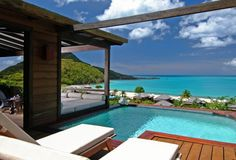 Hermitage Bay, Antigua, All Inclusive Honeymoons, Hillside Pool Cottage Suite.Offers complete privacy with personal plunge pool and sunbathing deck. Vacation Places, Vacation Destinations, Dream Vacations, Places To Travel, Dream Vacation Spots, Caribbean Resort, Seaside Resort, Antigua Caribbean, Caribbean Sea