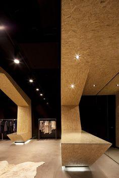 Fashion Store Interior Fame Agenda by Matt Gibson, Melbourne Shop Interior Design, Retail Design, Interior Design Inspiration, Store Design, House Design, Web Banner Design, Commercial Design, Commercial Interiors, Commercial Architecture