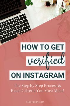 Have you ever wondered how to get verified on Instagram? Well this blog will give you the answer! Alex Tooby breaks down the exact step-by-step process of applying for verification plus explains the specific criteria instagram is looking for. If you follow all the steps in the blog, you'll be verified in no time! #instagramverified #howtogetverifiedoninstagram #verified Content Marketing, Affiliate Marketing, Social Media Marketing, Online Marketing, Instagram Marketing Tips, Instagram Tips, Instagram Quotes, How To Start A Blog, How To Get