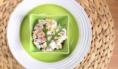 Καβουροσαλάτα με αβοκάντο και λάιμ Krabi, Seafood, Fish, Cooking, Ethnic Recipes, Sea Food, Kitchen, Pisces, Brewing