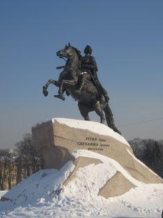 The Bronze Horseman, St. Petersburg