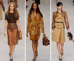 Burberry Prorsum Presents 'Trench Kisses' for Fashion Week '13, London