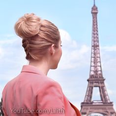 "Have a great weekend everyone!  Today I'm wearing a no ordinary ""zipped"" bun hairstyle from this hair tutorial http://youtu.be/Nk-q-pJdkyg"