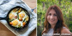 The author calls this recipe One Dish Breakfast, but this easy veggie/egg skillet works for any meal on Phase 3, as well as lunch or dinner on D-Burn, I-Burn (use olive oil), and H-Burn (use appropriate veggies - try subbing mushrooms and spinach for the bell peppers and tomatoes). Use 1 egg to serve 1.